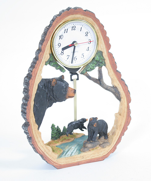X5991 Bear Table Clock