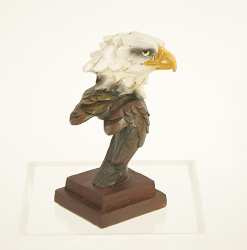 X5961 Carved look Mini Eagle Bust