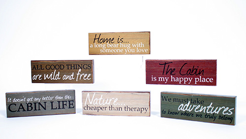 14084 Wood Signs