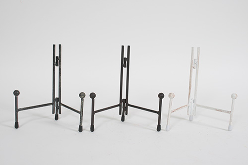 31519 Small Mtl Plate Stand