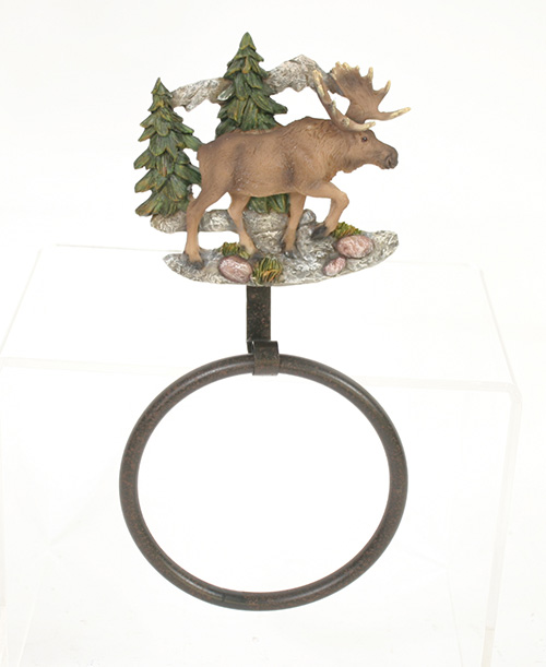 X2621 Moose Towel Ring