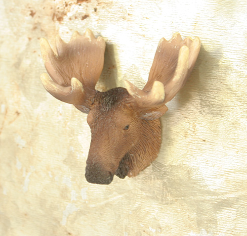 X2630 Mini Moose Head Magnet