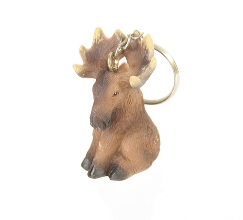 X2635 Moose Key Ring
