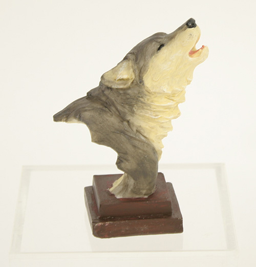 X5960 Small Wolf Bust
