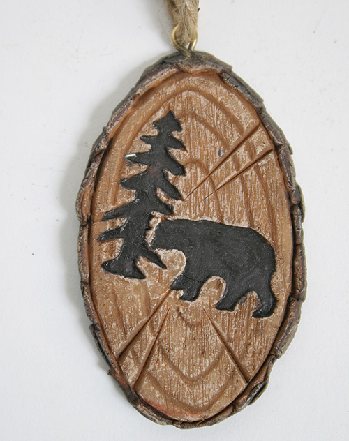 X2562 Bear ornament